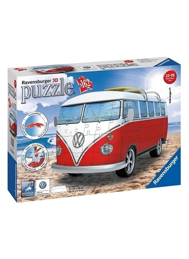 Ravensburger 3D Puzzle Volkswagen Otobüs T1 125166 Renkli